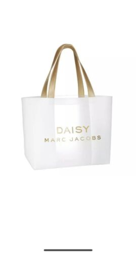 MARC JACOBS DAISY Clear//white TOTE SHOPPER  BEACH HOLIDAY BAG New Sealed