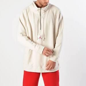 c1bdd243ef07d4 Jordan JSW Wings Washed Pullover New Light Bone Red Men Sportswear ...