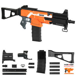 Image is loading Worker-MOD-F10555-UMP9-Rifle-3D-Print-Imitation-