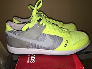 new style bc1df d3cb5 Image is loading Mens-Nike-Dunkesto-Size-12-Basketball-shoes-Neon-