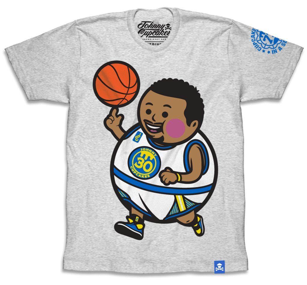 Johnny Cupcakes x NBA - Steph Curry