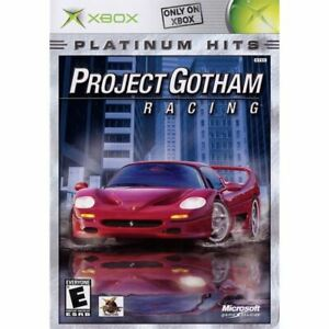 Project-Gotham-Racing-Platinum-Hits-Original-Xbox-Game-Complete-CLEAN-VG