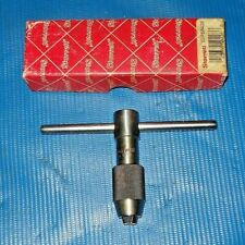Starrett 93b T Handle Tap Wrench With Sliding Handle And Original Box