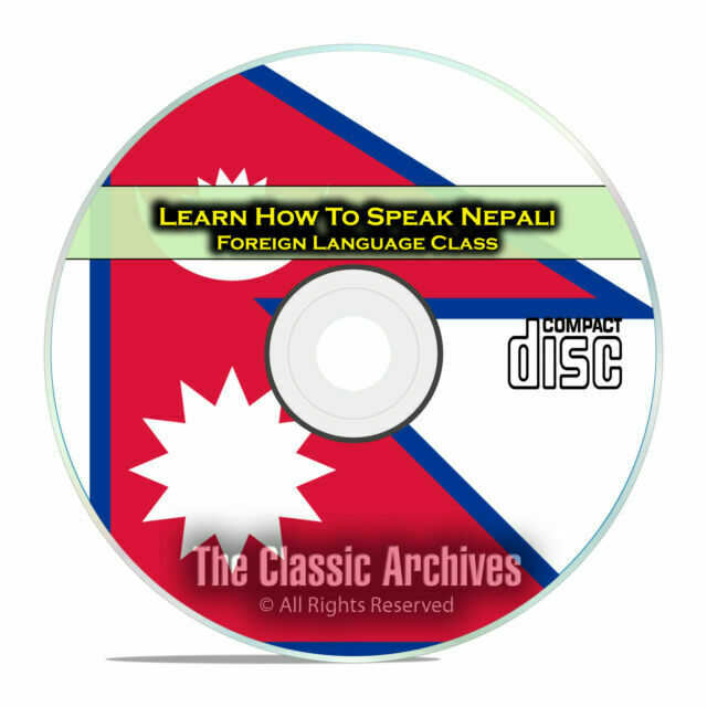 Learn How To Speak Nepali Fast Easy Foreign Language Training Course Cd E09 For Sale Online Ebay