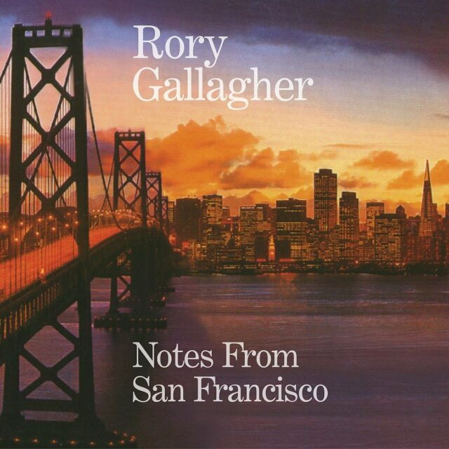 RORY GALLAGHER - NOTES FROM SAN FRANCISCO (2CD)  2 CD NEW!