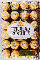 Ferrero Rocher Fine Hazelnut Chocolates Gift Box, 48 96 Or 192 Pieces