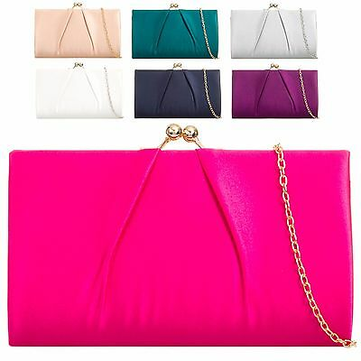 Ladies Cute Glitter Ball Clasp Clutch Bag Cocktail Bag Party Purse Handbag KH866