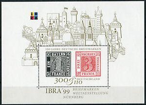 Bund-Block-Nr-46-sauber-postfrisch-IBRA-Muenchen-1999-BRD-Michel-Nr-2041-MNH
