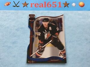 2001-Crown-Royale-Red-113-CLAUDE-LEMIEUX-35-Die-Cut-SSP-Phoenix-Coyotes