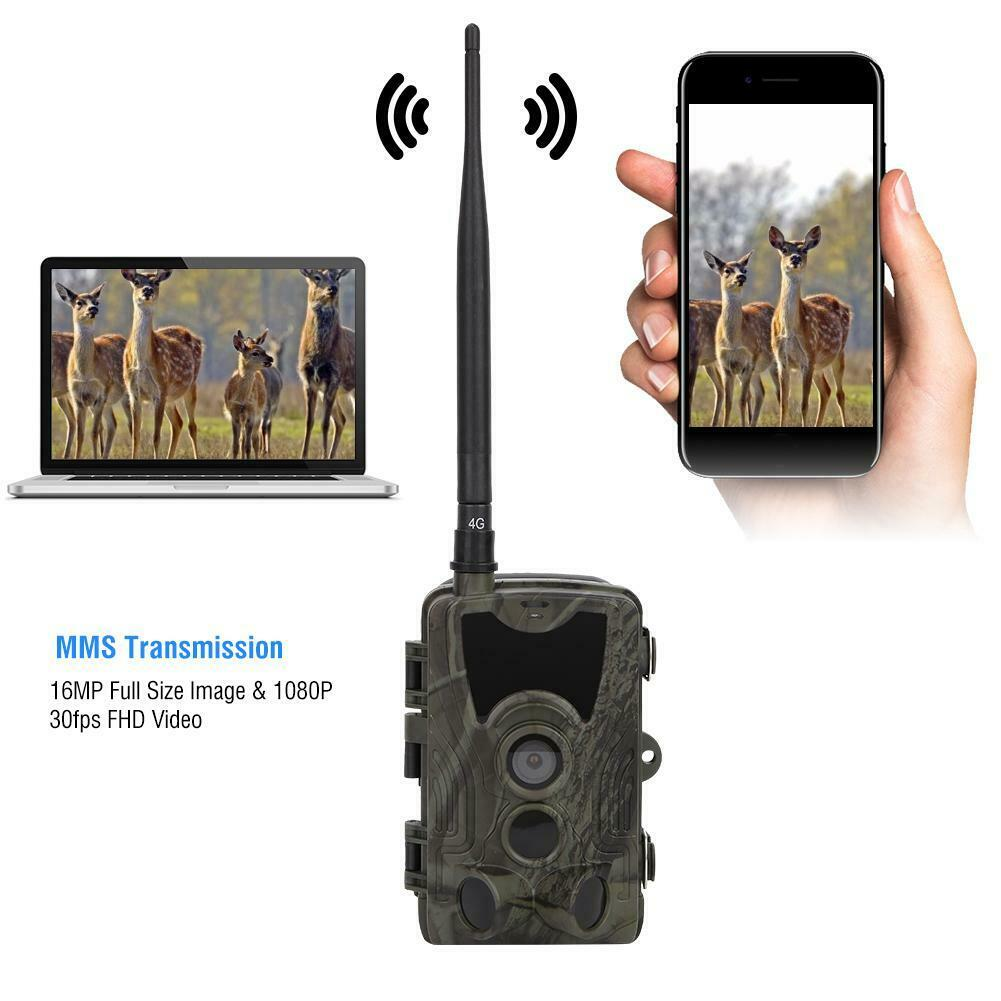 HC-801M 1080P 16mp Trail Camera Wildlife Night Vision Scouting GPRS GSM MMS SMTP