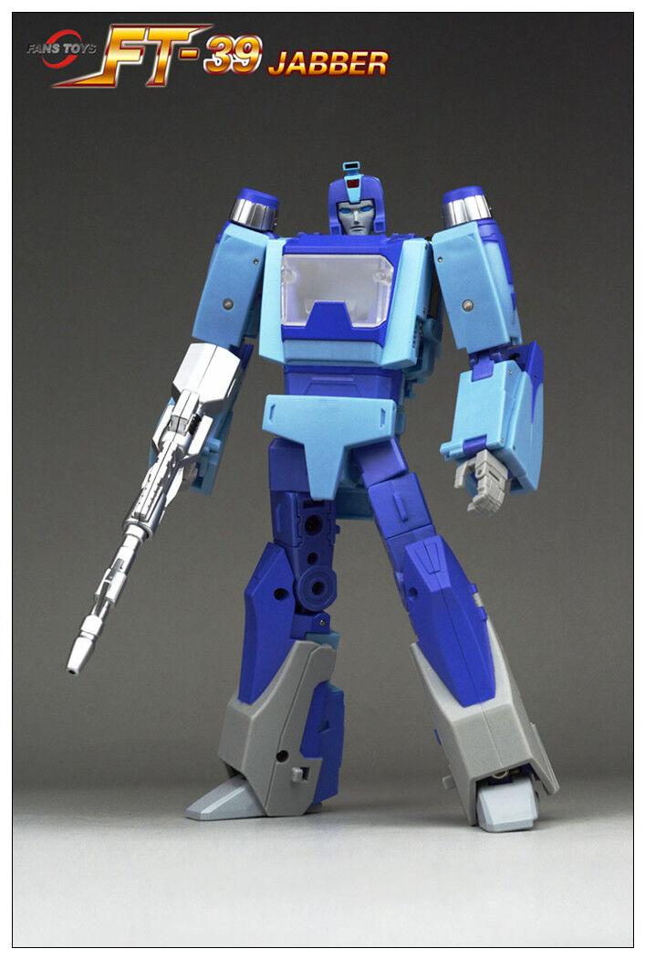 Pre-order Transformers FansJuguetes FT-39 FT39 Jabber G1 azulrr Figura De Acción
