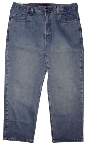 PERRY ELLIS AMERICA WIDE LEG MENS JEANS 40 X 30 14 in. Rise 9.5 in. leg opening