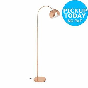 HOME Curva Floor Lamp - Copper From the Official Argos Shop on ebay