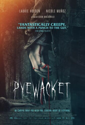 "Pyewacket 2017 Adam MacDonald Movie Poster Silk Print 13x20/"" 20x30/"" 24x36"