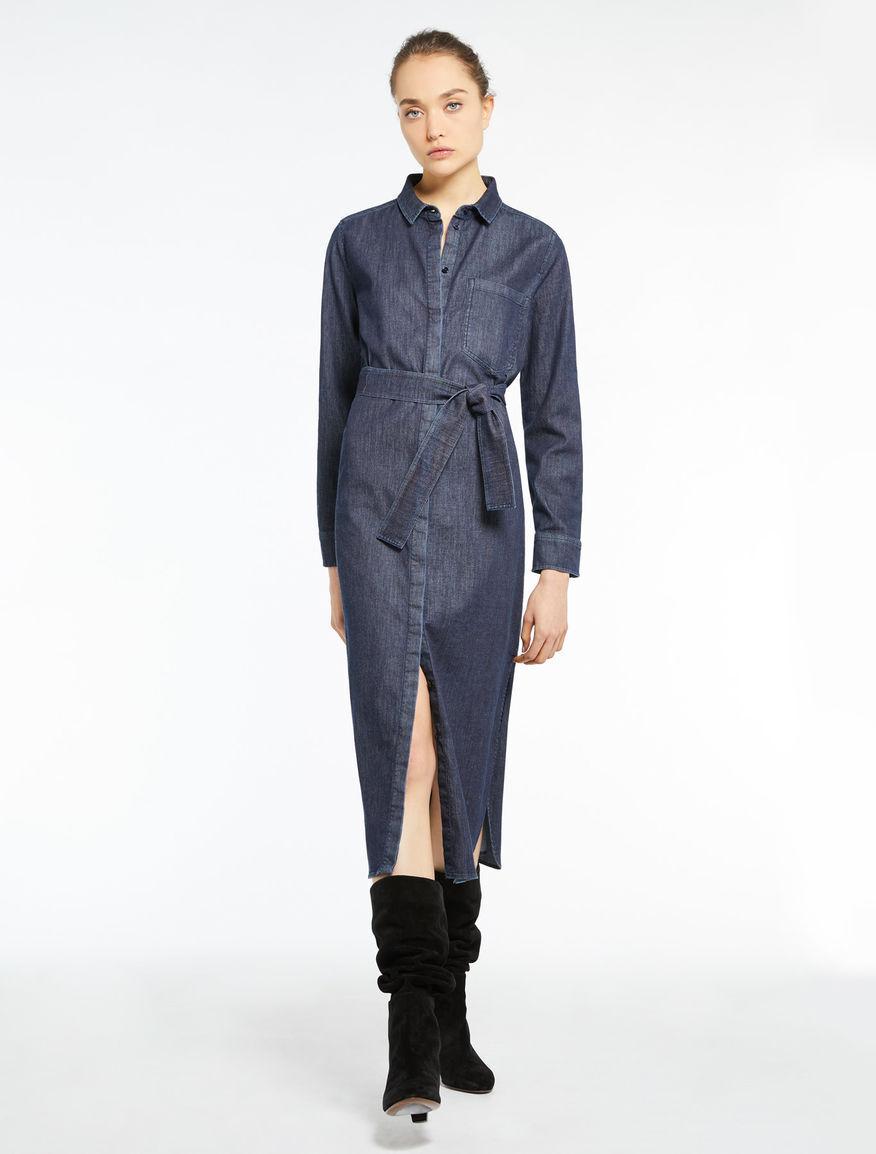 Kleid aus Denim Kleid in Jeans Modell Lisca Marella