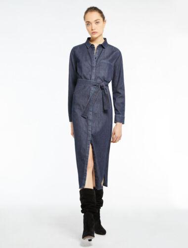 Marella Lisca Jeans In Modello Abito Denim Chemisier FYqTnYpf