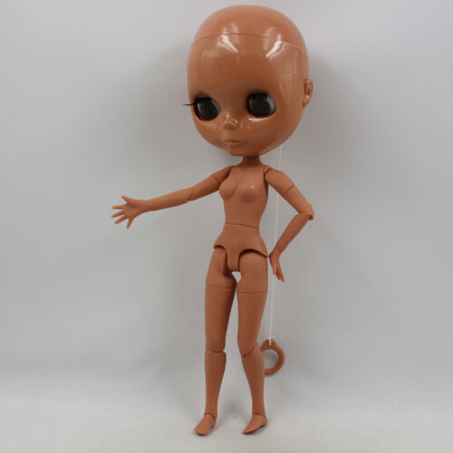 "Takara 12/"" Neo Dark Skin Bald Nude Doll Joint Body from Factory"