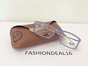 New-Authentic-Rayban-Matthew-Iridescent-Blue-RB7021-5496-Eyeglasses