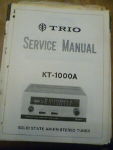 Kenwood-KT-1000A-Stereo-Tuner-Service-Manual