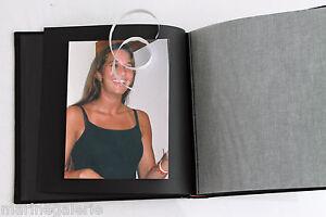 Album photo neuf noir 50 pages noires 15x21 13x18 etc mini book pro ... ed5b16a4bb4d