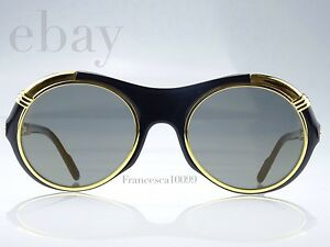 18e8764167 Image is loading Cartier-Diabolo-Sunglasses-Vintage-NEWS-OLD-STOCK