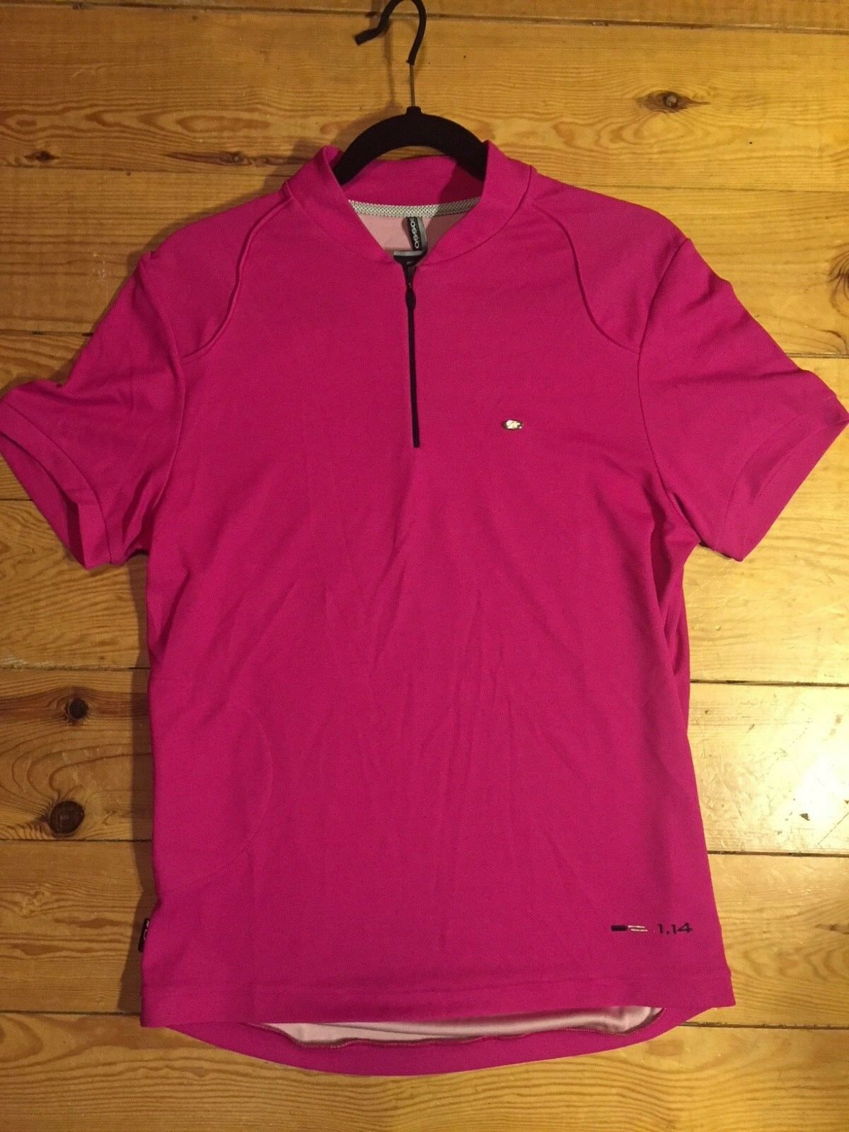 New ASSOS DOPO BICI ACTIVITY POLO SS LADY PINK size Large