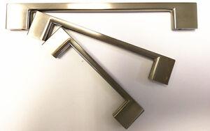 Image Is Loading Kitchen Cabinet Pulls Doors Handles Brushed Nickel Drawer