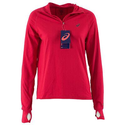 ASICS Damen Laufshirt 154547 Thermopolis LS 12 Zip Samba Rot S Shirt, Sport   eBay