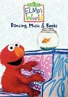 Elmo's World Dancing Music Books 0074645172095 With Kevin Clash DVD Region 1