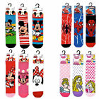 Disney Mickey Minnie Mouse Spider Princess Standard Socks