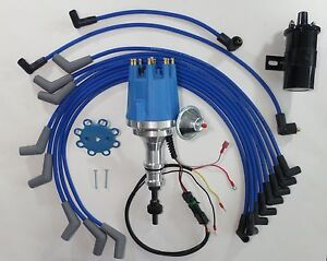 ford 289 302 pro series small cap hei distributor black coil rh ebay com
