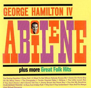 GEORGE-HAMILTON-IV-ABILENE-plus-more-Great-Folk-Hits-Original-CD-country