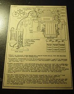 western electric candlestick desk telephone wiring schematic diagram Candle Diagram image is loading western electric candlestick desk telephone wiring schematic diagram