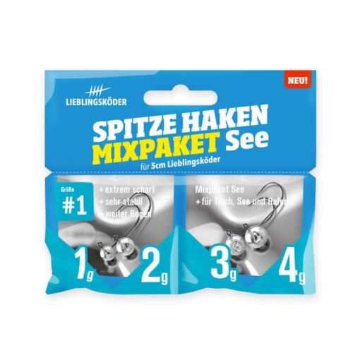 Lieblingsköder Spitze Haken #1-5g Jigkopf Haken für 5 /& 7,5cm Gummiköder