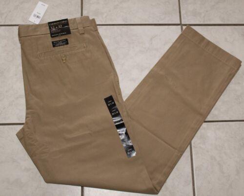 Nouveau Homme Neuf Avec Étiquettes Banana Republic Emerson Chino khakis Coupe Droite Pantalon $59 6Q