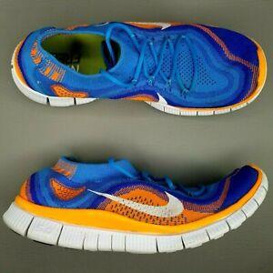 premium selection cac9e 7caee La foto se está cargando Nike-Free-Flyknit-Calzado-para-Correr-Talla-10-