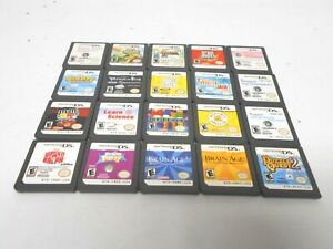 Nintendo-ds-game-lot-of-20-lite-dsi-xl-3ds-2ds