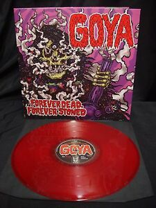 Goya-Forever-Dead-Forever-Stoned-LP-Red-Vinyl-Ltd-300-Monolord-Salems-Pot-Sleep