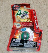 BAKUGAN Bakusolo Baku Sky Raiders GREEN  Factory Sealed Jumps