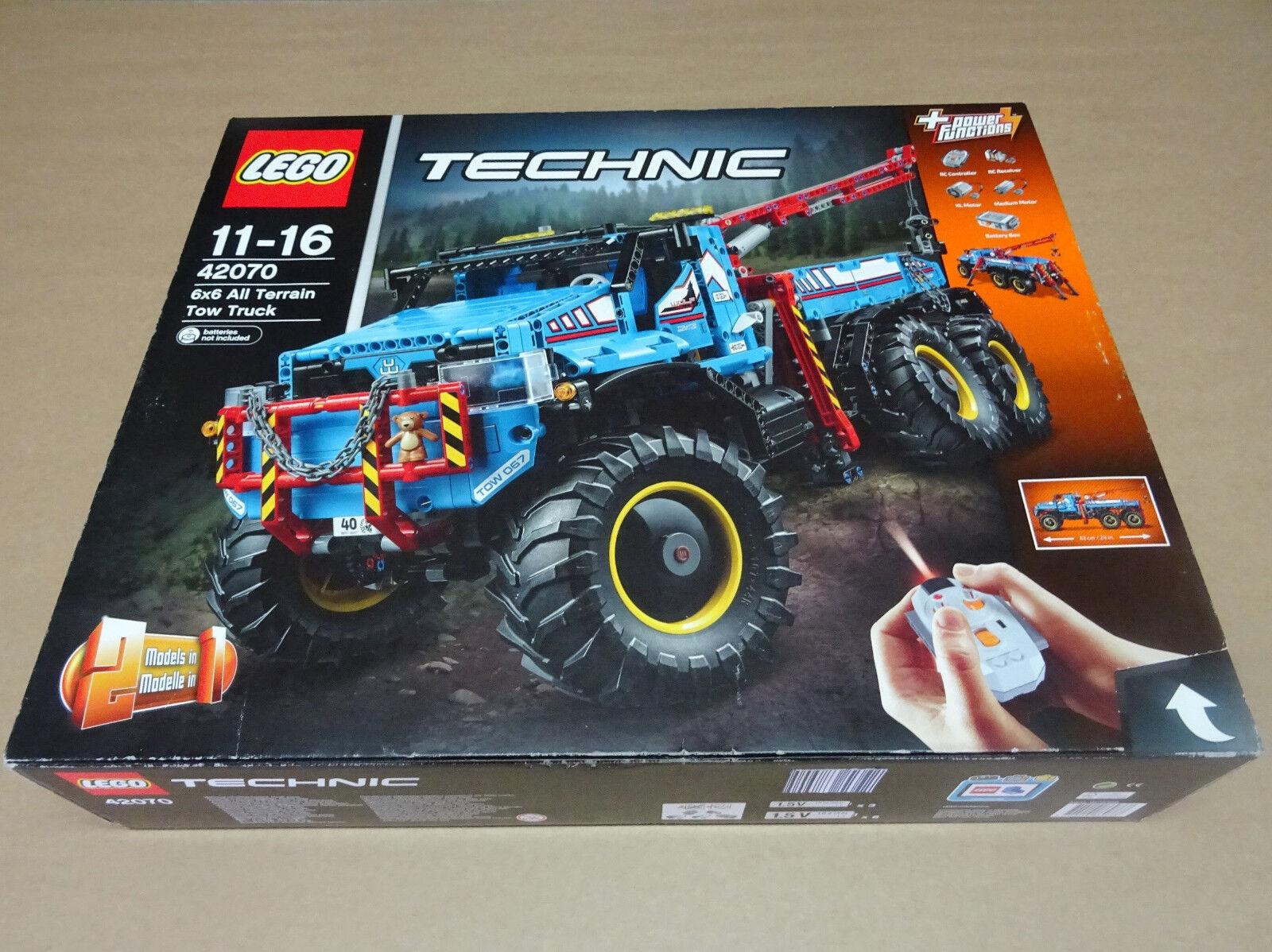 LEGO TECHNIC 6X6 ALL TERRAIN TOW TRUCK TRUCK TRUCK 42070 - NUEVO PRECINTADO SIN ABRIR 0b2efd