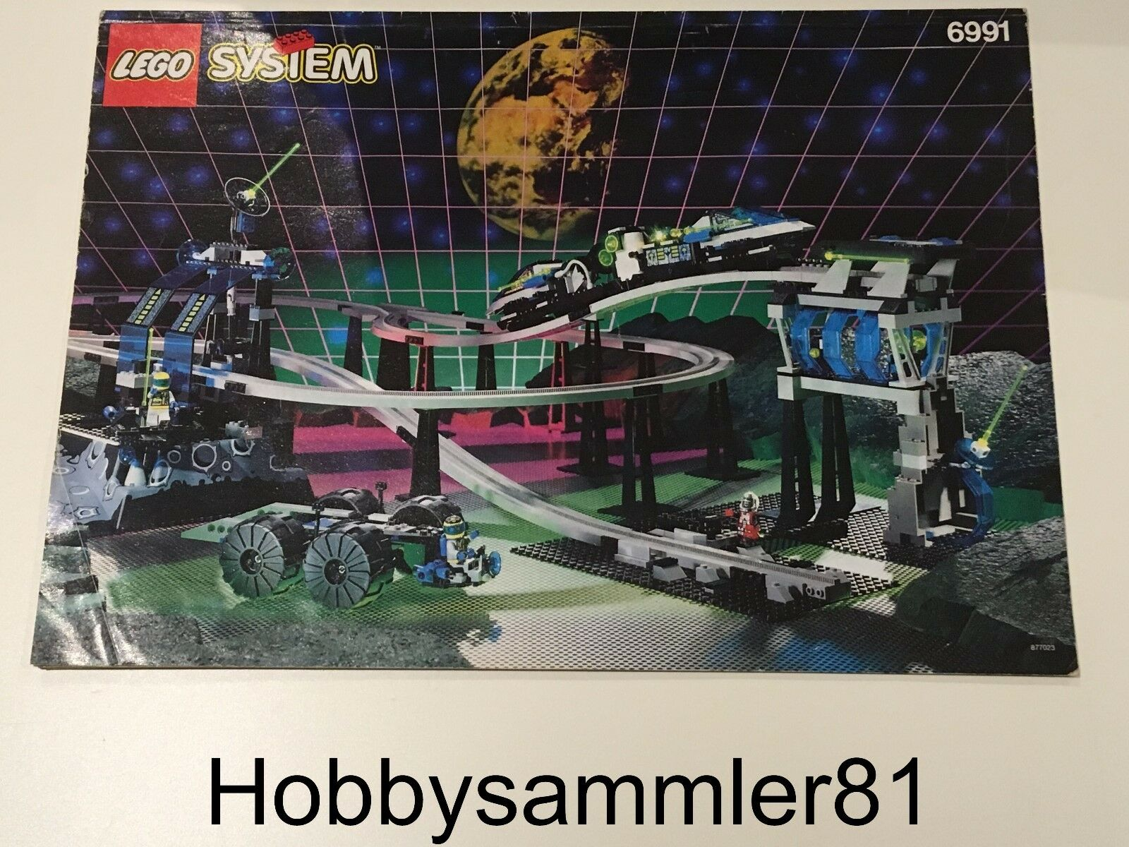 Lego® 6991 System Space Bauanleitung Monorail Transport Base