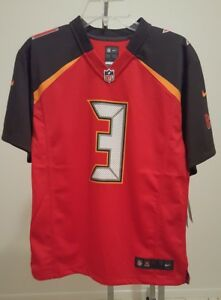 39b71a0b2ea Jameis Winston NFL Tampa Bay Buccaneers Red Nike Game Jersey NEW ...