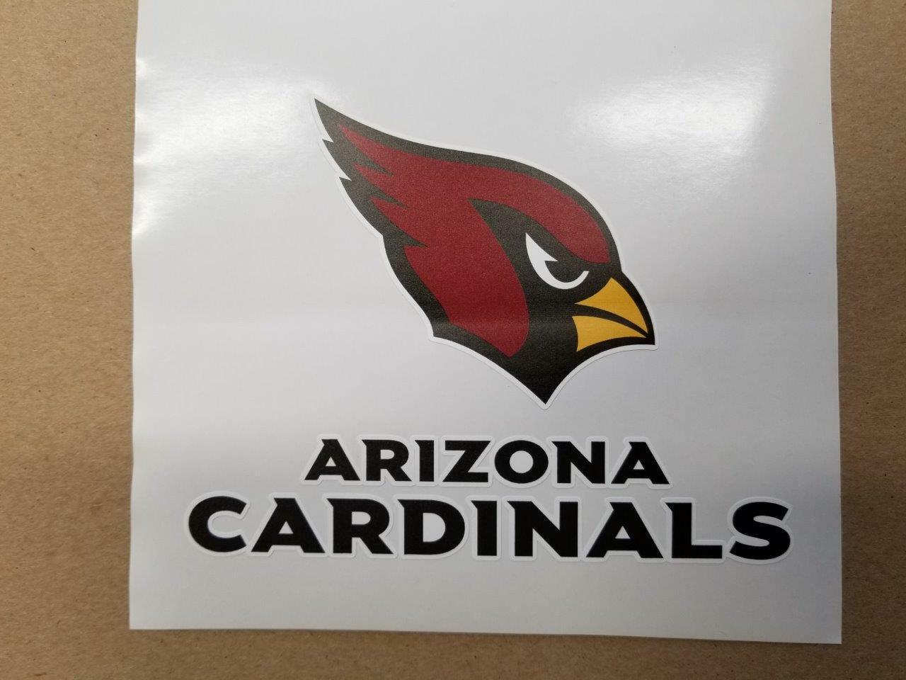 Arizona  Cardinals cornhole board or vehicle decal(s)AC3  very popular