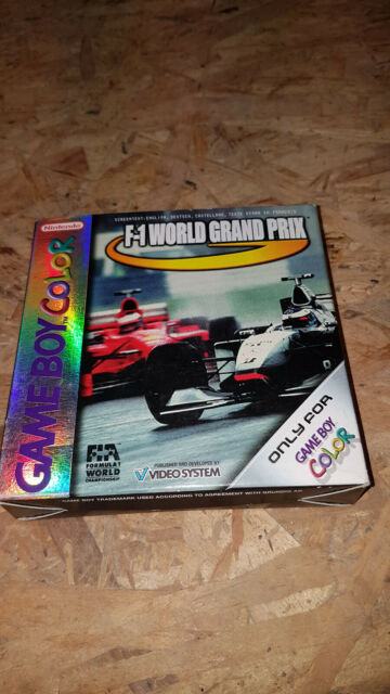 F1 World Grand Prix pour Game Boy Color