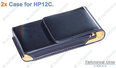 HR 1x Belt Clip CASE Pouch for  HP 10c 11c 12c 12CP HP 15c 16c 17BII 10BII+
