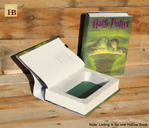 Details about Hollow Book Safe - Harry Potter and the Half-Blood Prince -  Book Safe