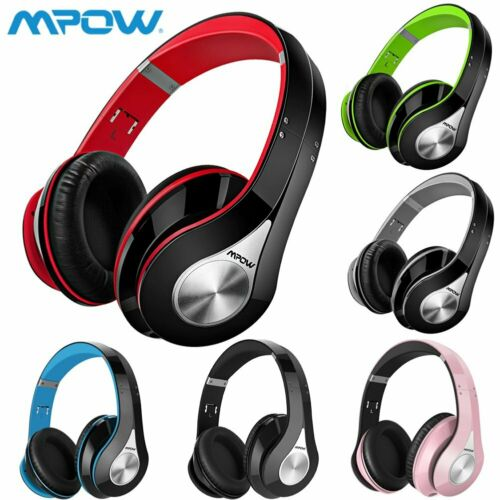 Mpow Kopfhörer Bluetooth Kopfhörer On Ear Stereo Headset Faltbare Bügelkopfhörer