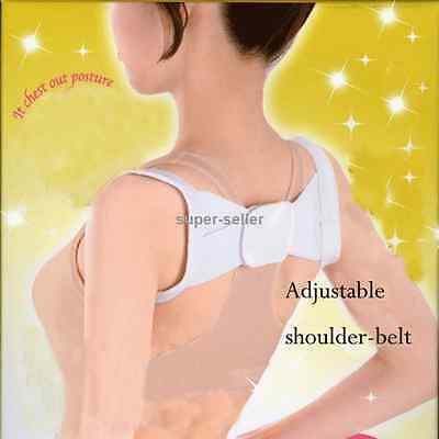 Correct Back Therapy Support  Brace Belt Posture Shoulder Corrector Spine