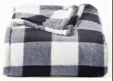 "60/"" X 72/"" Mainstays Giant Oversized Plush Throw Blanket Red Plaid"