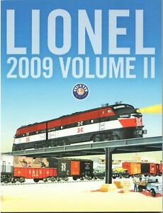 LIONEL 2009 TRAIN CATALOG Volume 2